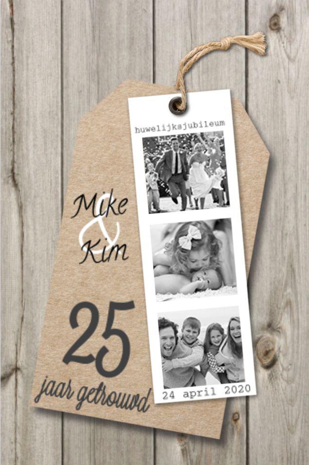 lovz | uitnodiging 25 jaar getrouwd