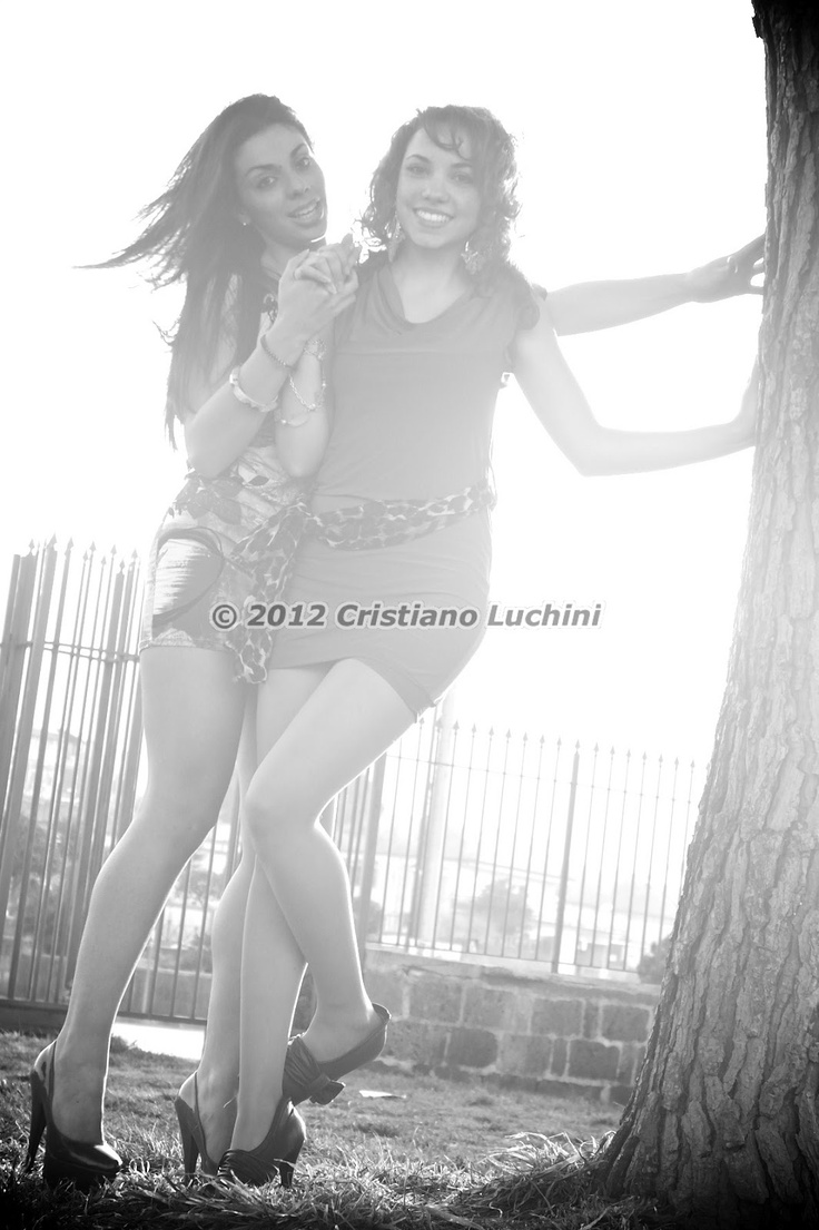 Models: Anna Minucci/Pia Sarracino Photographer: Cristiano Luchini