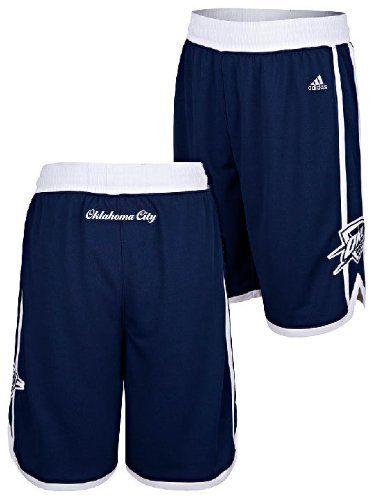 Oklahoma City Thunder Navy Embroidered Swingman Shorts By Adidas (Large) adidas. $57.95. Save 11% Off!