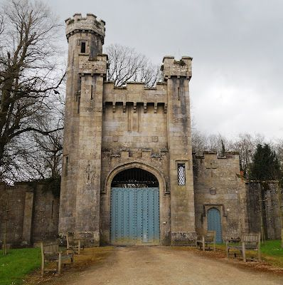 Borris House, Co. Carlow. Richard & William Morrison. Alterations and additions to the house, chapel, Gate Lodge.