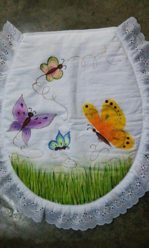 Butterflies....Juego de baño.