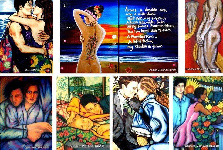 Figurative Paintings  Mixed Media
