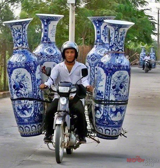 Delicate transportation.
