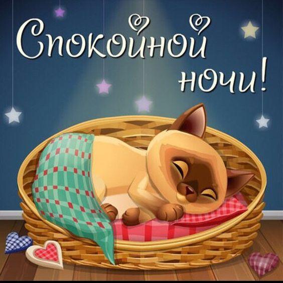 Спокойной ночки