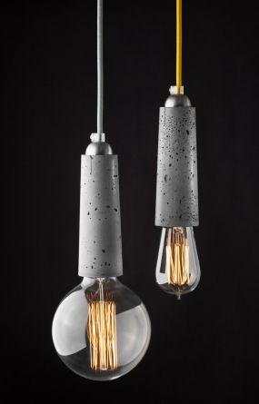 Falcon - lightweight concrete pendant lamp