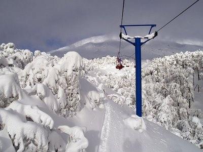 Centro de esqui en Volcán Villarrica