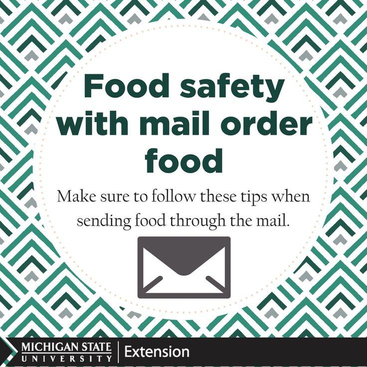 18 best food safety images on pinterest food safety for Best mail order food