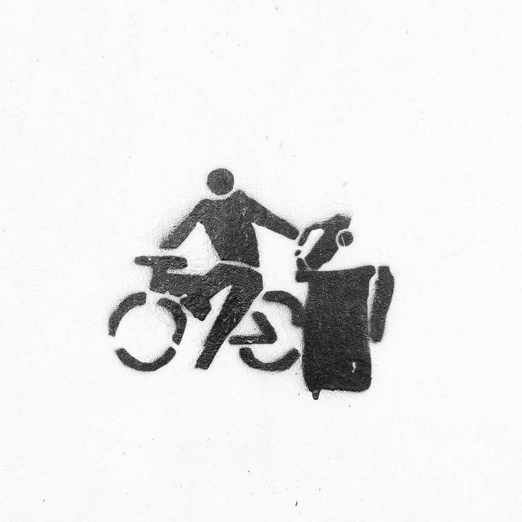 Nasi tu byli. #rower #bike #bikelife #streetart #graffiti #opener #RyfkaNaOpenerze