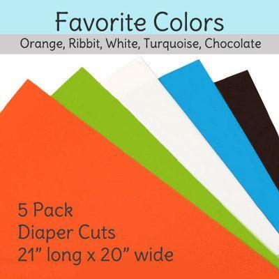 Diaper Sewing Supplies - Diaper Cuts - 5 Pack - Favorite Colors, $9.95 (http://www.diapersewingsupplies.com/diaper-cuts-5-pack-favorite-colors/)