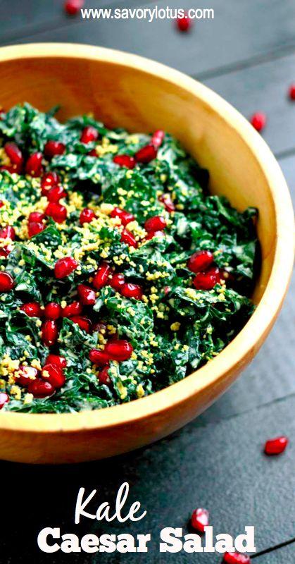 ... Salad (grain and dairy free, paleo)   Recipe   Massage, Caesar salad