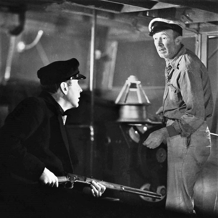 Walter Brennan here with Humphrey Bogart in TO HAVE AND HAVE NOT ('44)
