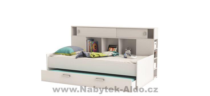 Dětská postel s přistýlkou a nadstavcem Sherwood 407011