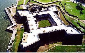 As A child a spent many an hour wondering the ramparts of Castillo de San Marcos, St Augustine, Florida USA - Source: Wikipedia, the free encyclopedia