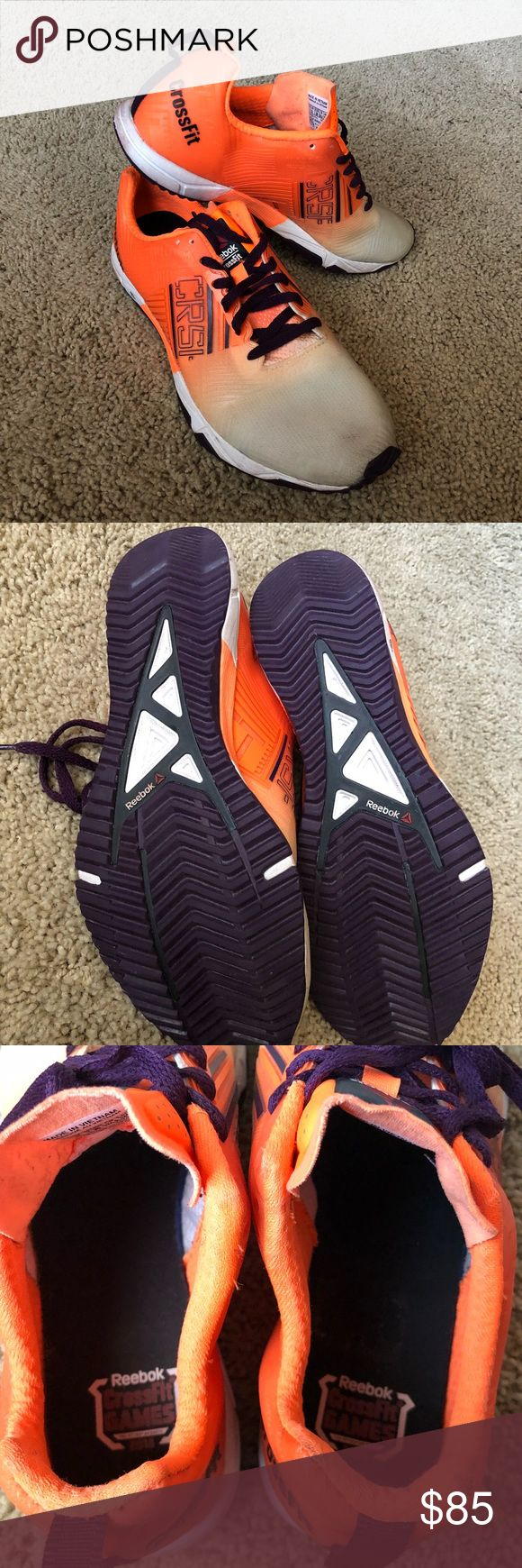 Reebok Crossfit Games Nano Sprint Shoe 💥SHIPS WITHIN 1-2 DAYS💥 Condition: Great, used 2x, Removed sticker on inside (right shoe) Comfort: Extremely comfortable, hugs your feet perfectly for smooth sprint or long run Reebok Shoes Sneakers