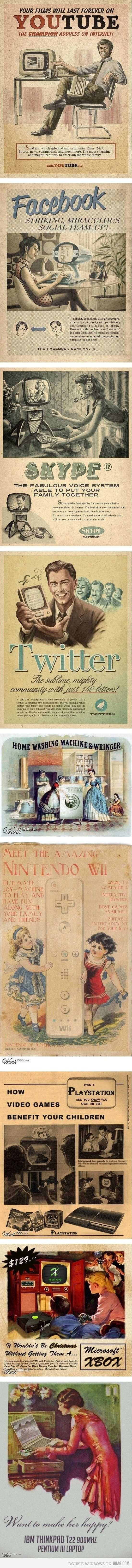 Vintage Makeover Advertisement | Things for Geeks