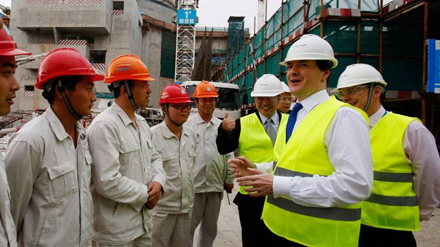 China will be allowed to buy UK nuclear power stations, George Osborne says