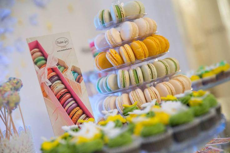 Candybar Macarons Madame Lucie - Bucuresti PANDORA România event. #madamelucie #macarons