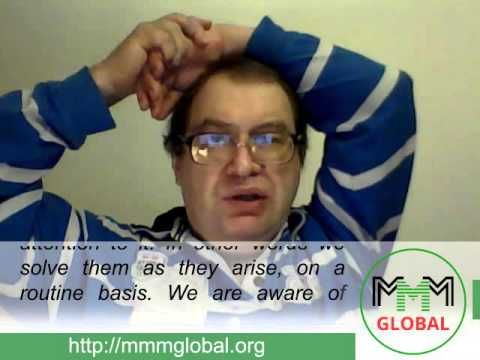 MMM Global, weekly news from Sergey Mavrodi. / NEWS / MMM GLOBAL — Official Website
