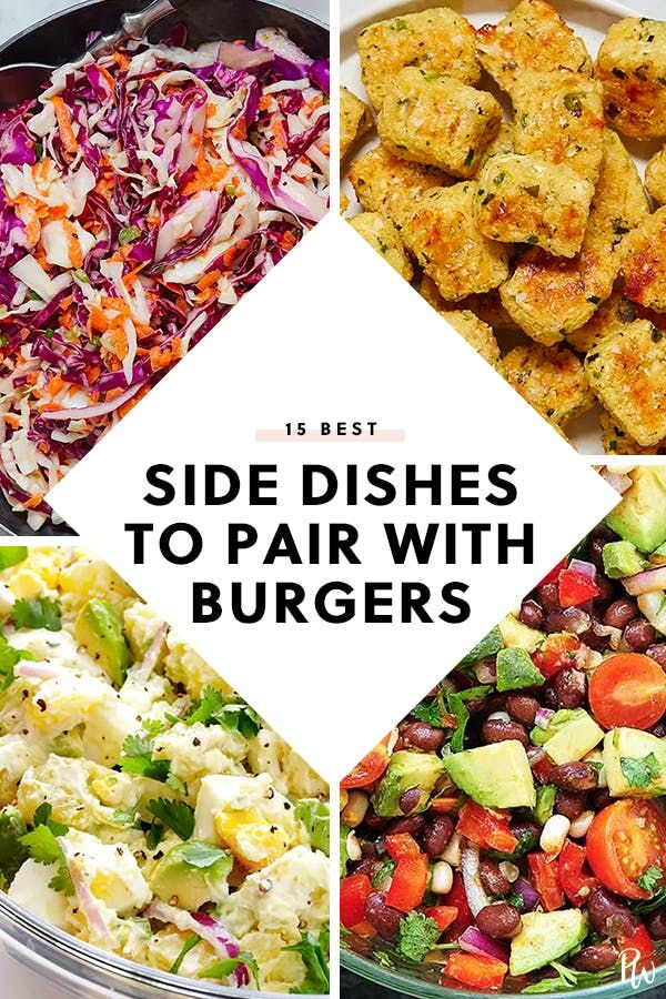 15 Side Dishes That Pair Perfectly With Burgers Burger Side