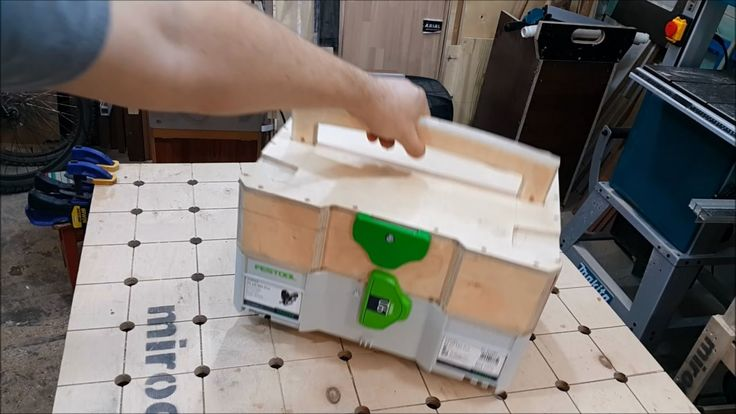 homemade wooden systainer making process