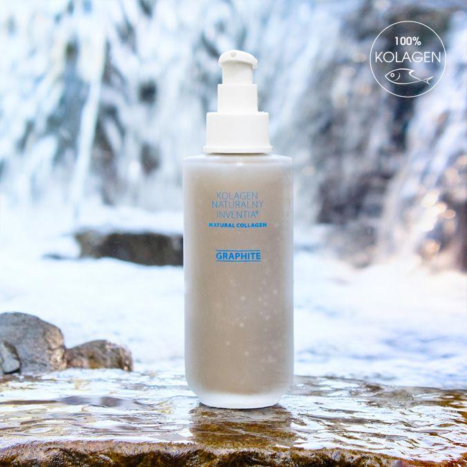 Natural Graphite Collagen 200 - naturalna pielęgnacja dla Twoich włosów i paznokci. Zobacz więcej na: http://sklep.tajnikiurody.pl/pielegnacja_wlosow/graphite_200ml.html
