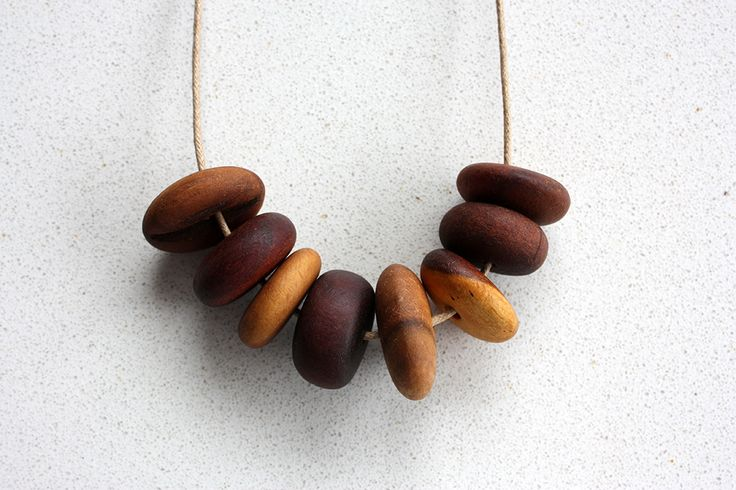 Australian wood necklaces. Made with 100% salvaged wood. Rustic, earthy and one of a kind.  https://www.etsy.com/au/listing/208470433/unique-australian-wood-necklace?ref=shop_home_active_5