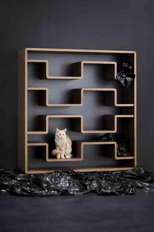 """Piotr Kuchciński, """"Xeon X18"""" shelf, 2004. From the album 'Polish Design: Uncut – Best of 21st-century Design'. Photo: Przemek Szuba / www.przemekszuba.pl"""