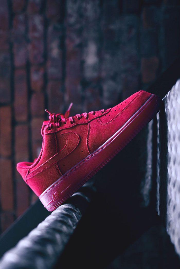 Air Force 1 #suede #sneakers #beautiful #footwear