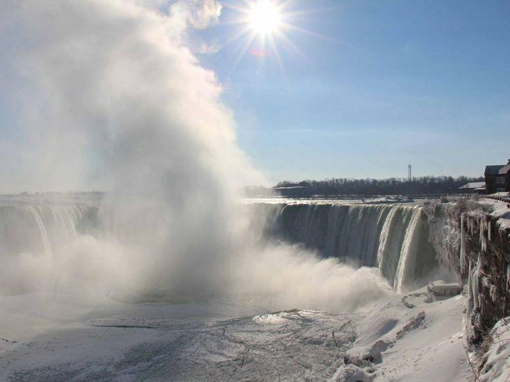 Niagara Falls, Polar Vortexed