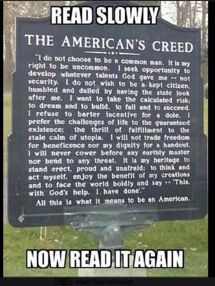 "gatsbywise: "" ""The American's Creed"" is the title of a resolution passed by the U.S. House of Representatives April 3, 1918. It is a statement written in 1917 by William Tyler Page as an entry into a..."