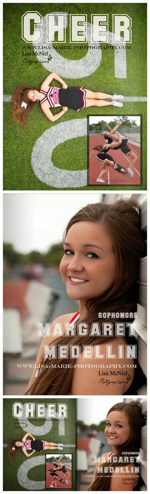Cheerleading Cheer click the pic to see 20 more senior picture ideas, #Portraits #Seniorpictures #cheer #cheerleading www.Lisa-Marie-Photography.com
