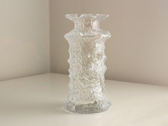 Timo Sarpaneva Signed Mouthblown Rubus Glass #2745 Vase by LosFabulous