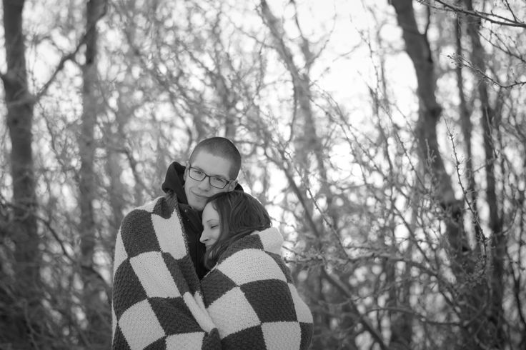 Winter engagement session J.N.D. Photography - JND Photo Stop - Courtney & Tyler