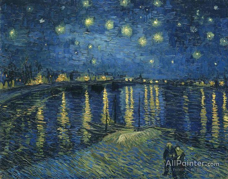 Vincent Van Gogh La Nuit Etoilee,arles,1888 oil painting reproductions for sale
