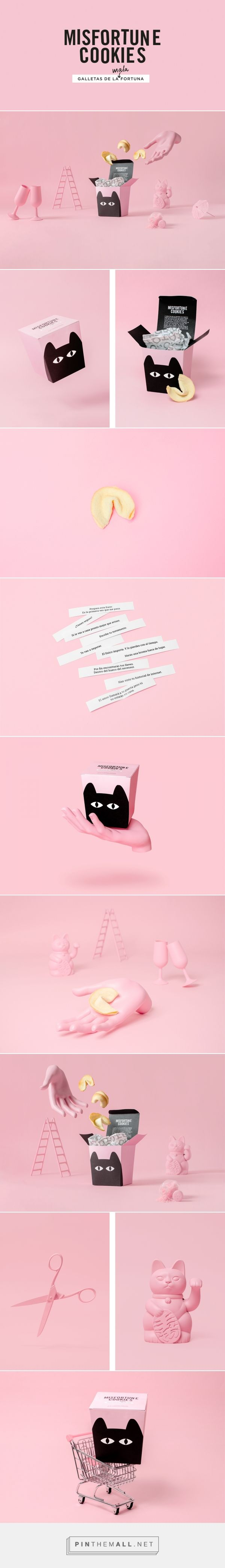 Misfortune Cookies Fortune Cookie Packaging by Adrià Molins | Fivestar Branding Agency – Design and Branding Agency & Curated Inspiration Gallery