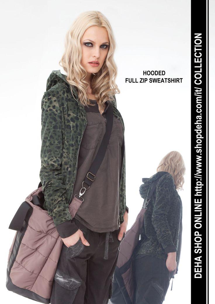 Per il vostro shopping online #DEHA #sweatshirt http://www.shopdeha.com/it/ http://www.shopdeha.com/it/collection/149-felpa-cappuccio.html