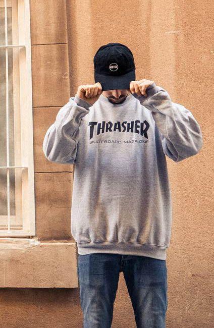 We ♥ Thrasher | #skatedeluxe #sk8dlx #thrasher #hoodie #style #trends