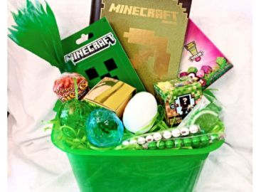 25 best easter gift baskets images on pinterest easter gift minecraft easter gift basket bucket at amazon negle Images