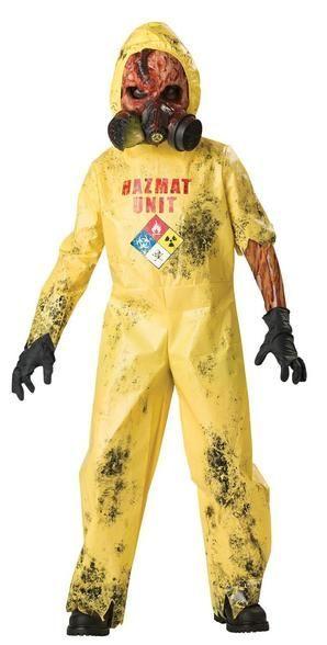 hazmat hazard suit halloween costume child halloweencostumekids