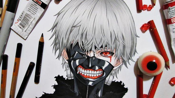 Drawing Kaneki Ken || Tokyo Ghoul 東京喰種トーキョーグール