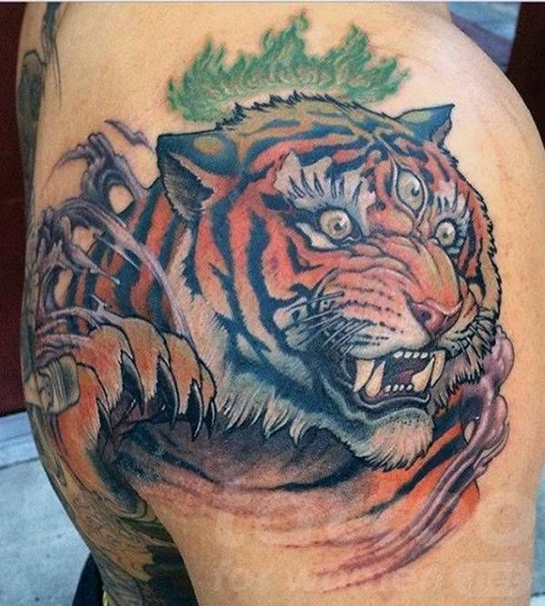 Types Of Tiger Tattoos Tiger Tattoo Tiger Tattoo Design Tattoo Designs Men