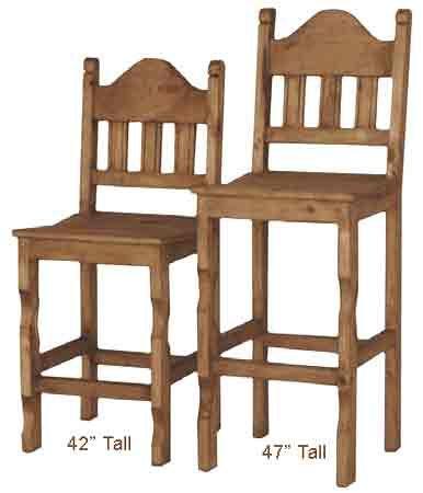 Bar Stools Rustic Mexican Furniture
