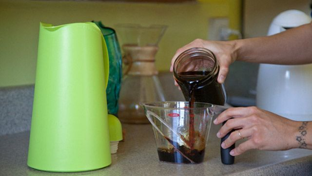 Make Excellent Hot Coffee for a Crowd with Coffee Concentrate ... or make it @ home and take it camping!!!