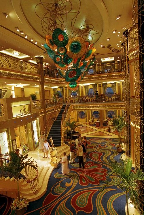The Disney Wonder cruise ship's main lobby.  This place is fit for a King, or a princess, or a MOUSE!!!!   Google Image Result for http://www.gwtravelandcruise.com/wp-content/uploads/2011/04/Disney-Wonder-Ship2.jpg