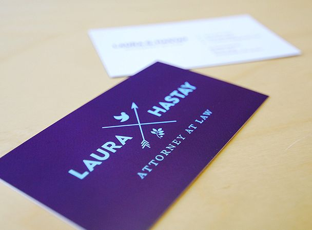 Hipster business card laura hastay hipster branding for Hipster business card