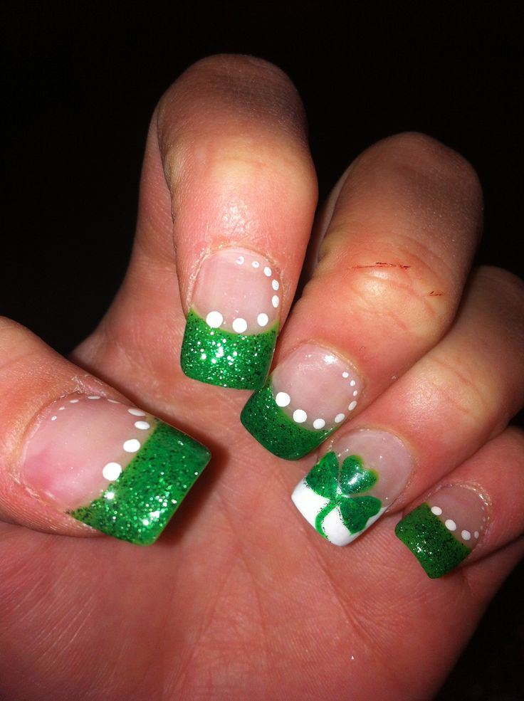 My St. Patrick's day Nails