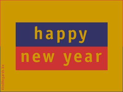 Engels 'Gelukkig Nieuwjaar'