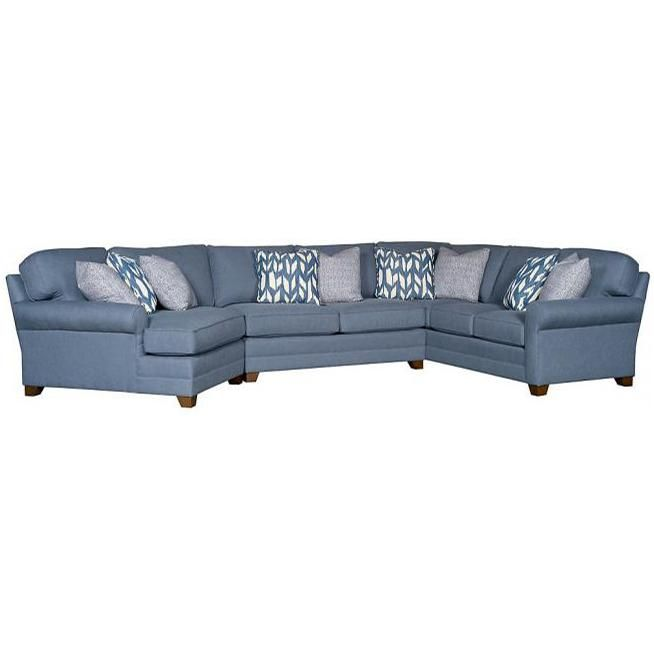 Winston Transitional Sectional by King Hickory