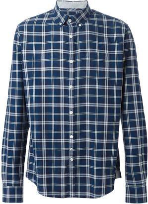 Woolrich plaid shirt - Shop for women's Shirt - BLUE Shirt
