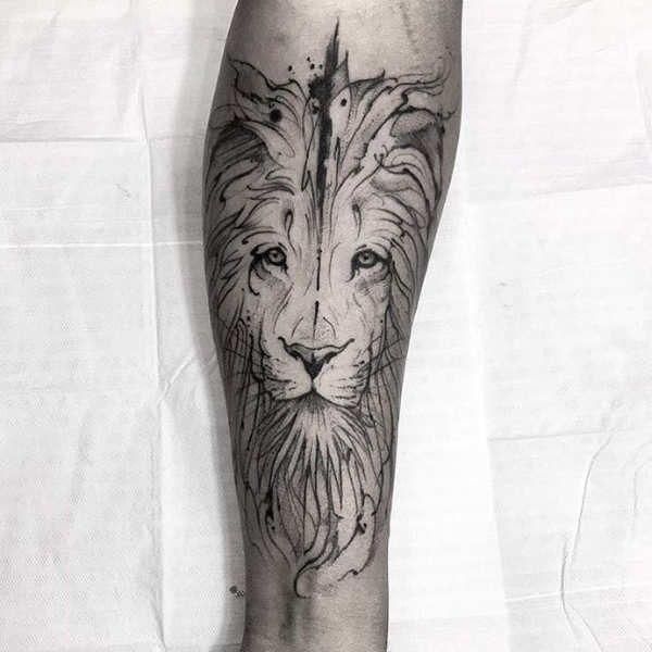 Tatuaż Lew Znaczenie Historia 50 Zdjęć Pomysł Na